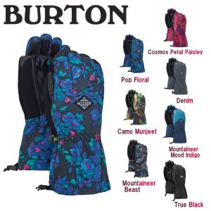BURTON バートン Profile Glove キッズ スノーグローブ  手袋 スノーボード ウィンタースポーツ 五本指 子供用 BURTON JAPAN正規品 54tide