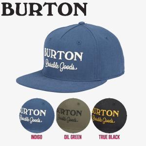 BURTON バートン Durable Goods メンズキャップ キャップ スナップバック 帽子 3カラー 54tide