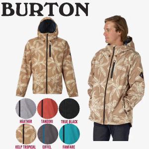 BURTON バートン Portal Jacket メンズジャケット ジップアップ フードジャケット 撥水加工 S・M・L 5カラー|54tide