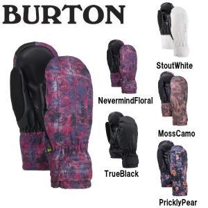 バートン BURTON レディース スノーグローブ ミトン ミット 手袋 スノーボード BURTON JAPAN正規品 Womens Burton Profile Under Mitten|54tide