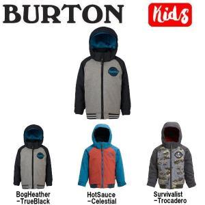 バートン BURTON キッズ 子供用 スノーウェア ジャケット アウター スノーボード BURTON JAPAN正規品 Boys Burton Toddler Gameday Bomber Jacket|54tide