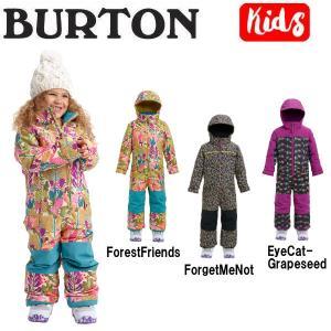 BURTON バートン キッズ 子供用 スノーウェア ワンピース つなぎ スノーボード BURTON JAPAN正規品 Girls Burton Toddler Illusion One Piece|54tide