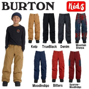 バートン BURTON キッズ 子供用 スノーパンツ ボトムス スノーボード BURTON JAPAN正規品 Boys Burton Boys Exile Cargo Pant|54tide