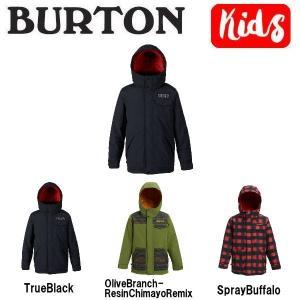 バートン BURTON キッズ 子供用 スノーウェア ジャケット アウター スノーボード BURTON JAPAN正規品 Boys Burton Dugout Jacket|54tide