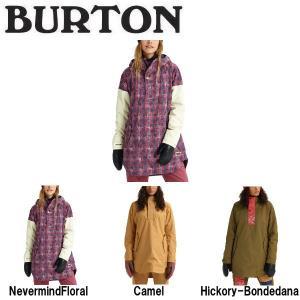 BURTON バートン レディース スノーウェア ジャケット アウター スノーボード BURTON JAPAN正規品 Womens Burton Chuteout Anorak Jacket|54tide