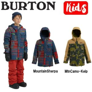 バートン BURTON キッズ 子供用 スノーウェア ジャケット アウター スノーボード BURTON JAPAN正規品 Boys Burton Covert Jacket|54tide