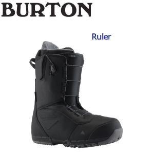 バートン BURTON メンズ スノーブーツ スノーボード 靴 アジアンフィット 7.5-10インチ Black BURTON JAPAN 正規品 Ruler|54tide