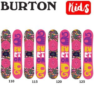 バートン BURTON キッズ スノーボード 板 ガールズ 110・115・120・125 BURTON JAPAN 正規品 Chicklet|54tide