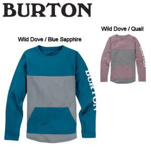 バートン BURTON キッズ ドライTシャツ 長袖 UVカット 紫外線 海水浴 ビーチ 2カラーXS / S / M / L / XL Kids Burton Spurway Tech Crew Sweatshirt|54tide