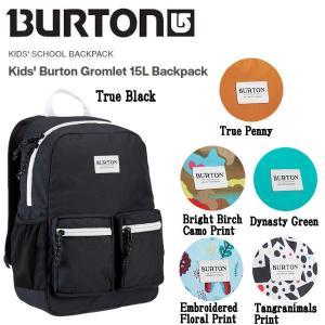 バートン BURTON Kids' Burton Gromlet 15L Backpack キッズ 子供 バックパック リュックサック デイバッグ スノーボード スキー ONE SIZE 正規品|54tide