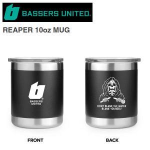 【BASSERS UNITED】バサーズユナイテッド 2020春夏 REAPER 10oz MUG マグカップ タンブラー ステンレス アウトドア フィッシング 釣り【あす楽対応】|54tide