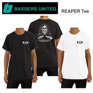 バサーズユナイテッド BASSERS UNITED REAPER Tee メンズ Tシャツ 半袖 アウトドア フィッシング 釣り|54tide