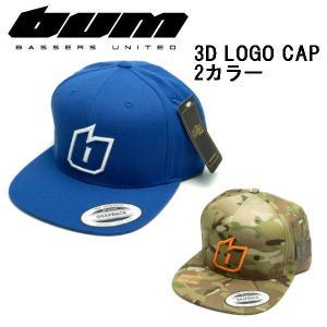 バサーズユナイテッド  BASSERS UNITED 3D LOGO CAP メンズ キャップ スナップバック 帽子 アウトドア フィッシング 魚釣り バス|54tide