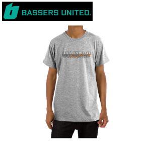 バサーズユナイテッド BASSERS UNITED BSRSUNTD SPORT TEE メンズ Tシャツ 半袖 アウトドア フィッシング 釣り GRAY|54tide