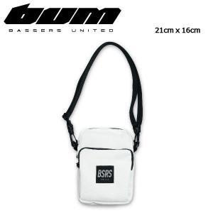 バサーズユナイテッド BASSERS UNITED ショルダーバッグ バック かばん アウトドア 21cm x 16cm WHITE Compact Bag|54tide
