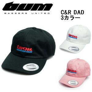 バサーズユナイテッド BASSERS UNITED C&R DAD CAP メンズ キャップ  帽子 アウトドア フィッシング 魚釣り バス|54tide