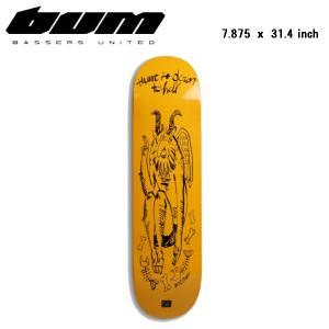 BASSERS UNITED バサースユナイテッド SK8 DECK SATAN スケート デッキ スケートボード 板 バス BASS FISHING 7.875 × 31.4 inch|54tide