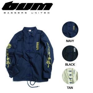 バサーズユナイテッド BASSERS UNITED メンズ ジャケット アウター コーチジャケット アウトドア フィッシング 魚釣り バス PRAY JKT|54tide