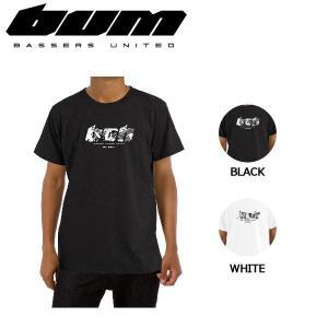 バサーズユナイテッド BASSERS UNITED メンズ 半袖 Tシャツ ティーシャツ トップス アウトドア フィッシング 魚釣り バス M・L・XL 2カラー REBORN Tee|54tide