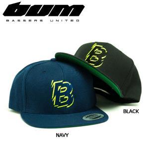 バサーズユナイテッド BASSERS UNITED メンズ キャップ スナップバック 帽子 アウトドア フィッシング 魚釣り バス 2カラー THUNDER CAP|54tide
