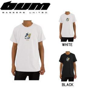 BASSERS UNITED バサーズユナイテッド WAVE Tee メンズ Tシャツ 半袖 ティーシャツ トップス アウトドア フィッシング 魚釣り バス|54tide
