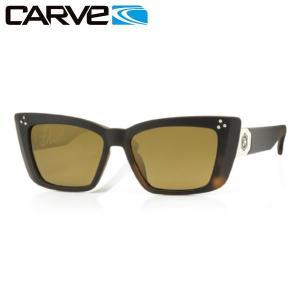 カーブ CARVE レディースサングラス TortPOLARIZED DIXIE|54tide