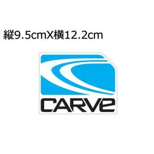 ステッカー カーブ CARVE サングラス カーブ CARVE ICON STICKER クリアステッカー アイコンステッカー シール 54tide