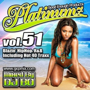 DJ BO Platinumz Vol.51 HIP HOP R&B MIX CD|54tide