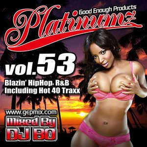 DJ BO Platinumz Vol.53 HIP HOP R&B MIX CD|54tide