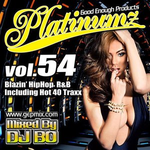 DJ BO Platinumz Vol.54 HIP HOP R&B MIX CD|54tide