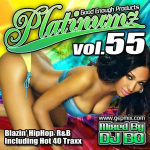 DJ BO Platinumz Vol.55 HIP HOP R&B MIX CD|54tide
