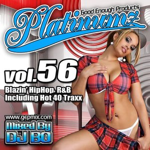 DJ BO Platinumz Vol.56 HIP HOP R&B MIX CD|54tide