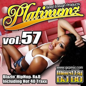 DJ BO Platinumz Vol.57 HIP HOP R&B MIX CD|54tide