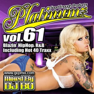 DJ BO Platinumz Vol.61 HIP HOP R&B MIX CD|54tide