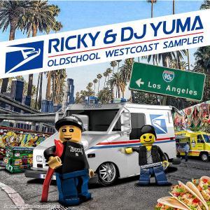 【DJ YUMA】Ricky and DJ YUMA Oldschool Westcoast Sampler HIP HOP R&B RIDE MIX CD 70s 80s Soul and Funk|54tide