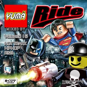 DJ YUMA RIDE Volume.116 HIP HOP RB MIX CD