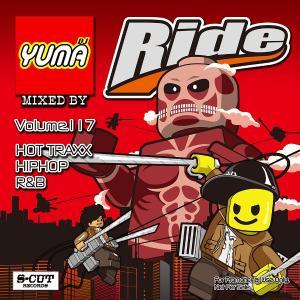 DJ YUMA RIDE Volume.117 HIP HOP RB MIX CD
