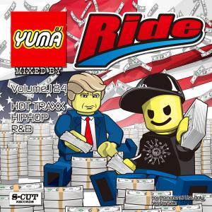 DJ YUMA RIDE Volume.124 HIP HOP RB MIX CD