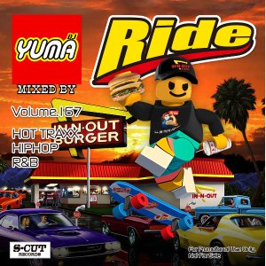 【DJ YUMA】RIDE Volume.167HIP HOP R&B MIX CD|54tide