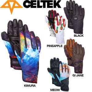セルテック CELTEK レディーススノーグローブ スノーボード 五本指手袋|54tide