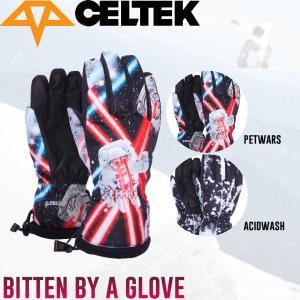 セルテック CELTEK BITTEN BY A GROVE メンズ スノーグローブ 5本指 スノーボード|54tide