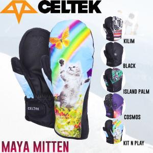 セルテック CELTEK MAYA MITTEN レディース スノーグローブ ミトン ミットグローブ スノーボード |54tide