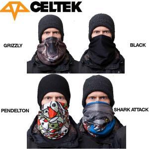 セルテック CELTEK Ms Scribble メンズスノーフェイスマスク スノーボード|54tide