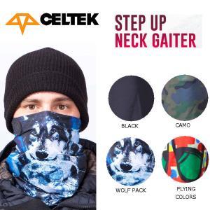 セルテック CELTEK STEP UP NECK GAITER メンズ スノーネックウォーマー スノーボード|54tide