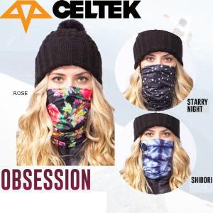 セルテック CELTEK OBSESSION NECK GAITER レディース スノーネックウォーマー スノーボード|54tide