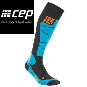 CEP シーイーピー Ski Merino Socks azur サイズII〜IV レディーススキーメリノソックス|54tide