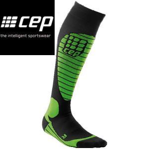 CEP シーイーピー Ski Race Socks green サイズII〜IV レディース スノースポーツ用 サーモソックス|54tide