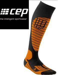 CEP シーイーピー Ski Race Socks orange サイズII〜IV レディーススノースポーツ用サーモソックス|54tide