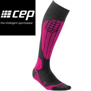 CEP シーイーピー Ski Thermo Socks pink サイズII〜IV レディース スノースポーツ用 サーモソックス|54tide