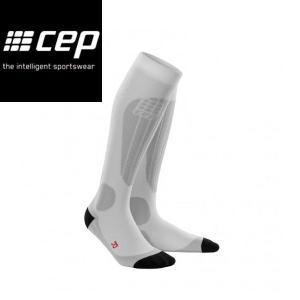 CEP シーイーピー progressive+ Ski Thermo SocksSilver レディーススノースポーツ用サーモソックス スキー 厚手タイプ|54tide